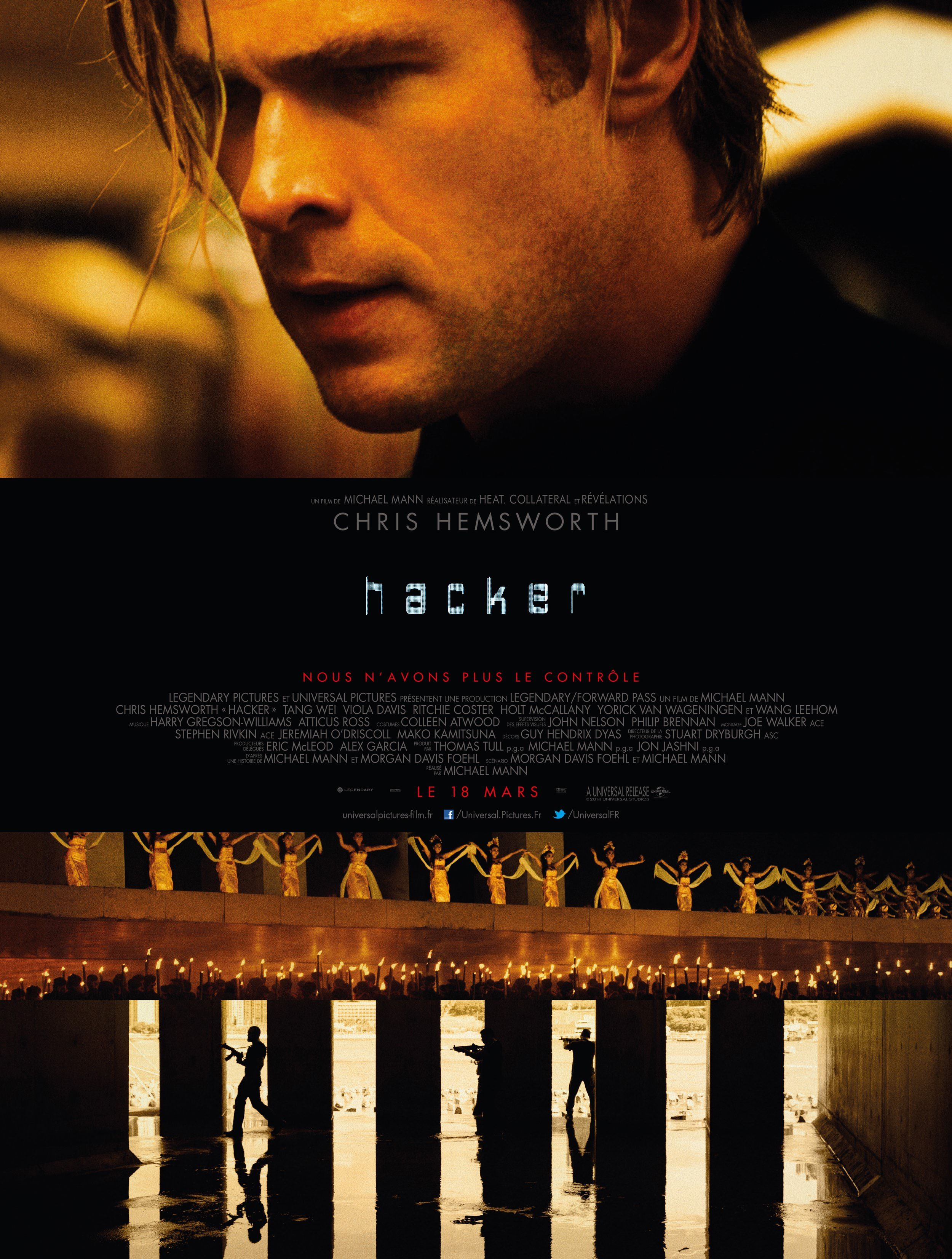 "H for ""Hacker"" = ""Blackhat"" - Michael Mann (2015)"