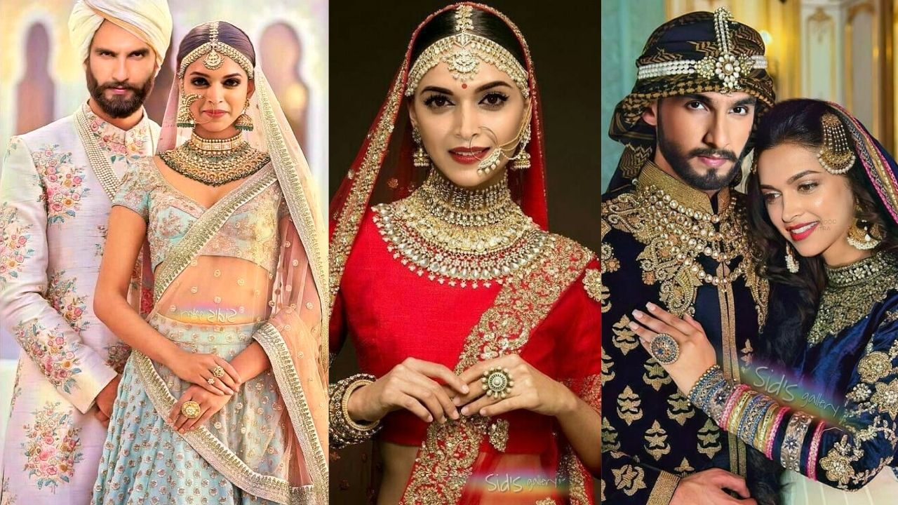 After Repeatedly Dodging The Rumours Of Their Nuptials Deepika Padukone And Ranveer Singh Officially A Fashion Indian Saree Blouses Designs Sabyasachi Dresses