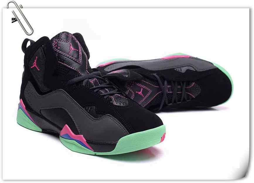 635810e5e6ee Nike Jordan True Flight GS (342774-039)BLK VVD PINK-GM.RYL LT LCO ...