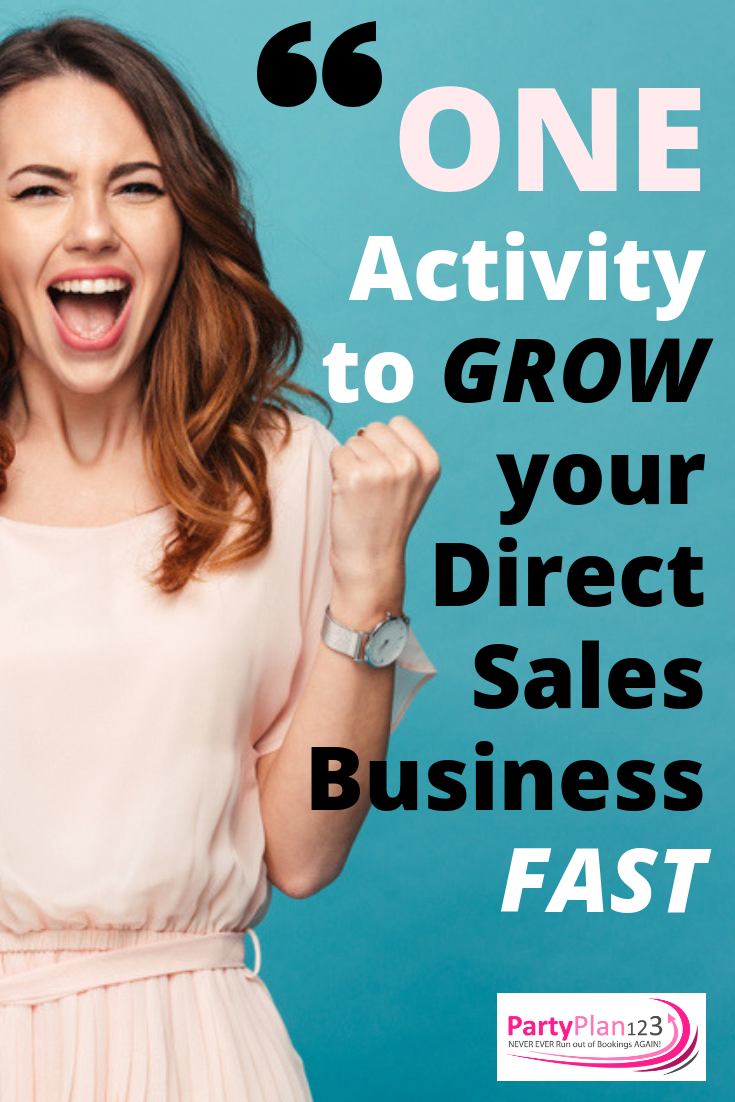 One Activity To Grow Your Direct Sales Business Fast Direct