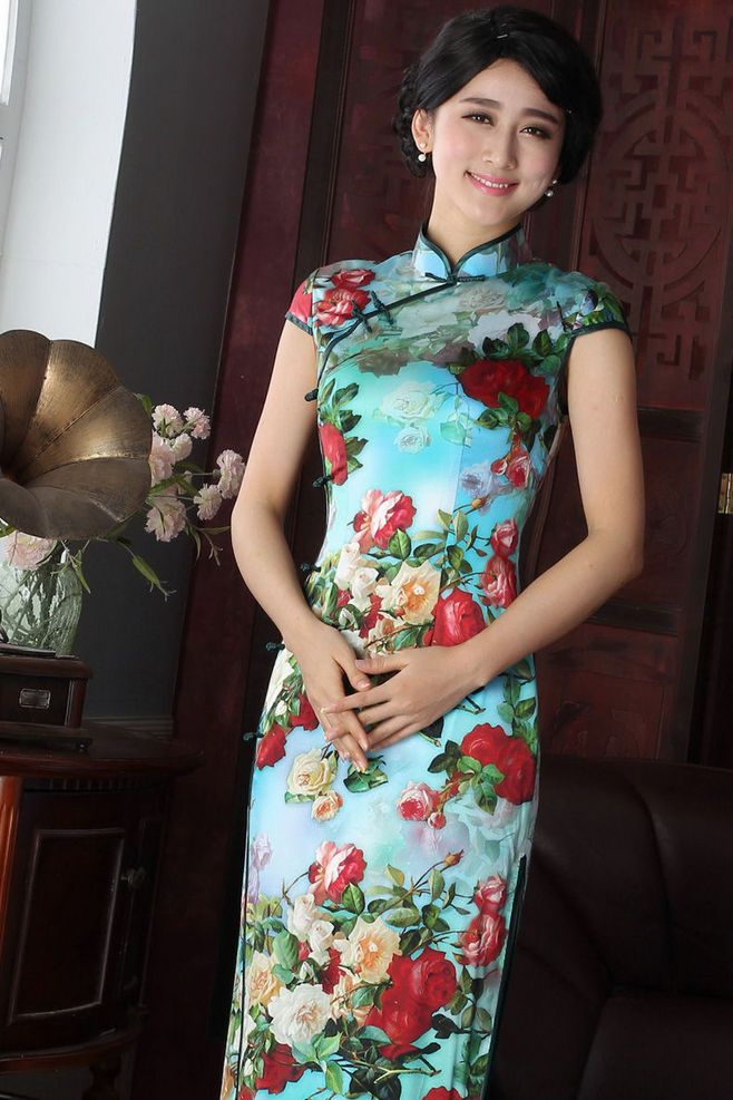 Chinese Qipao | Oriental fashion, Chinese traditional