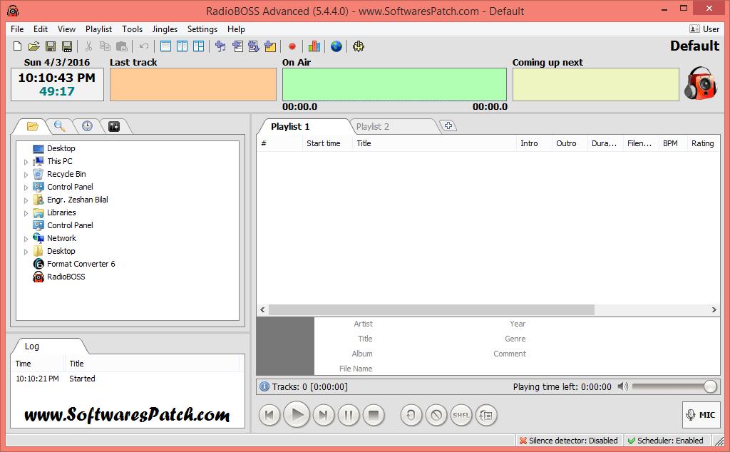 Free download RadioBOSS for windows 8 32bit free version - downmfile RadioBOSS