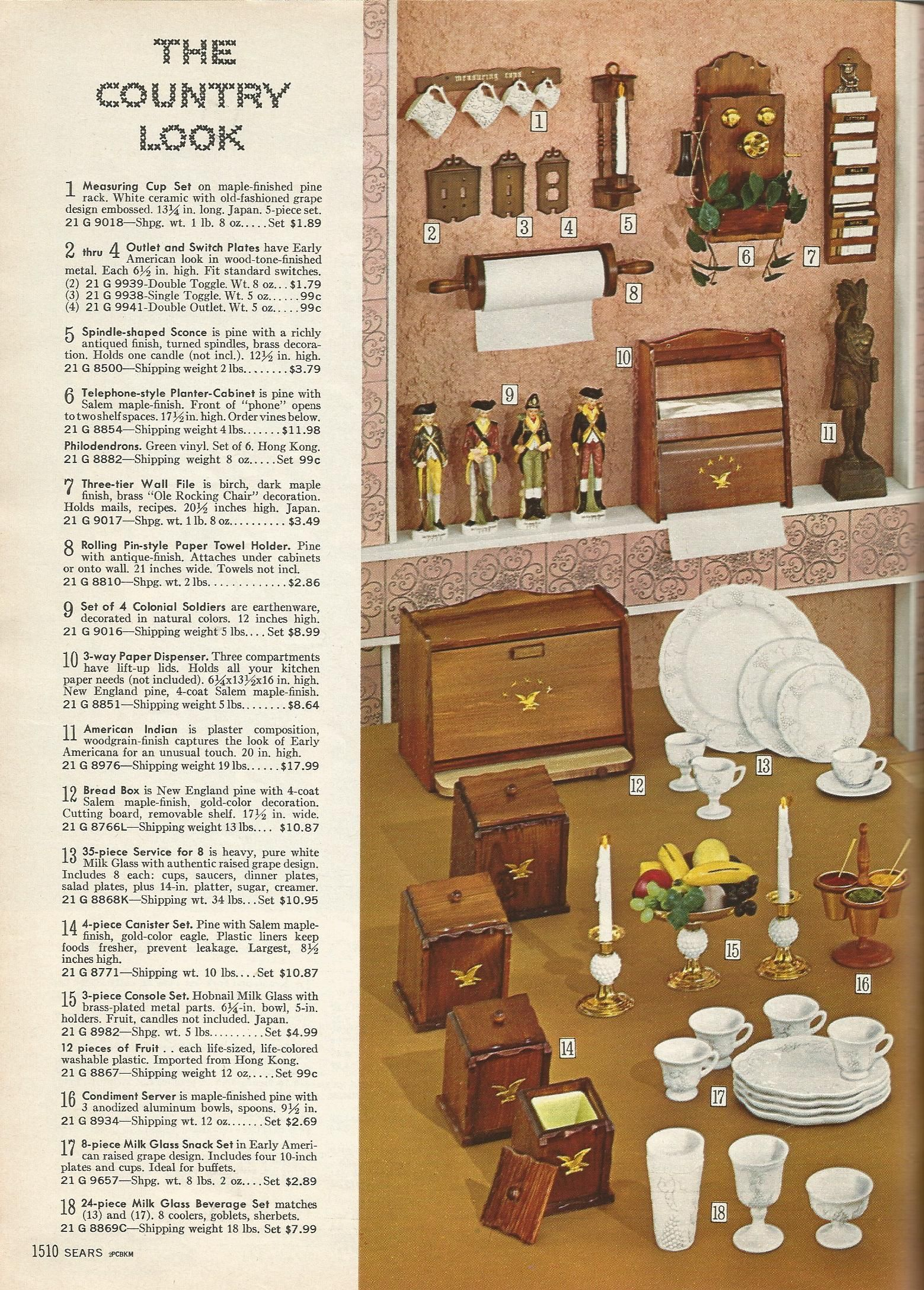 1965 House Decor Vintage Home Decorating 1960s Wall Decor And Accents Posted On