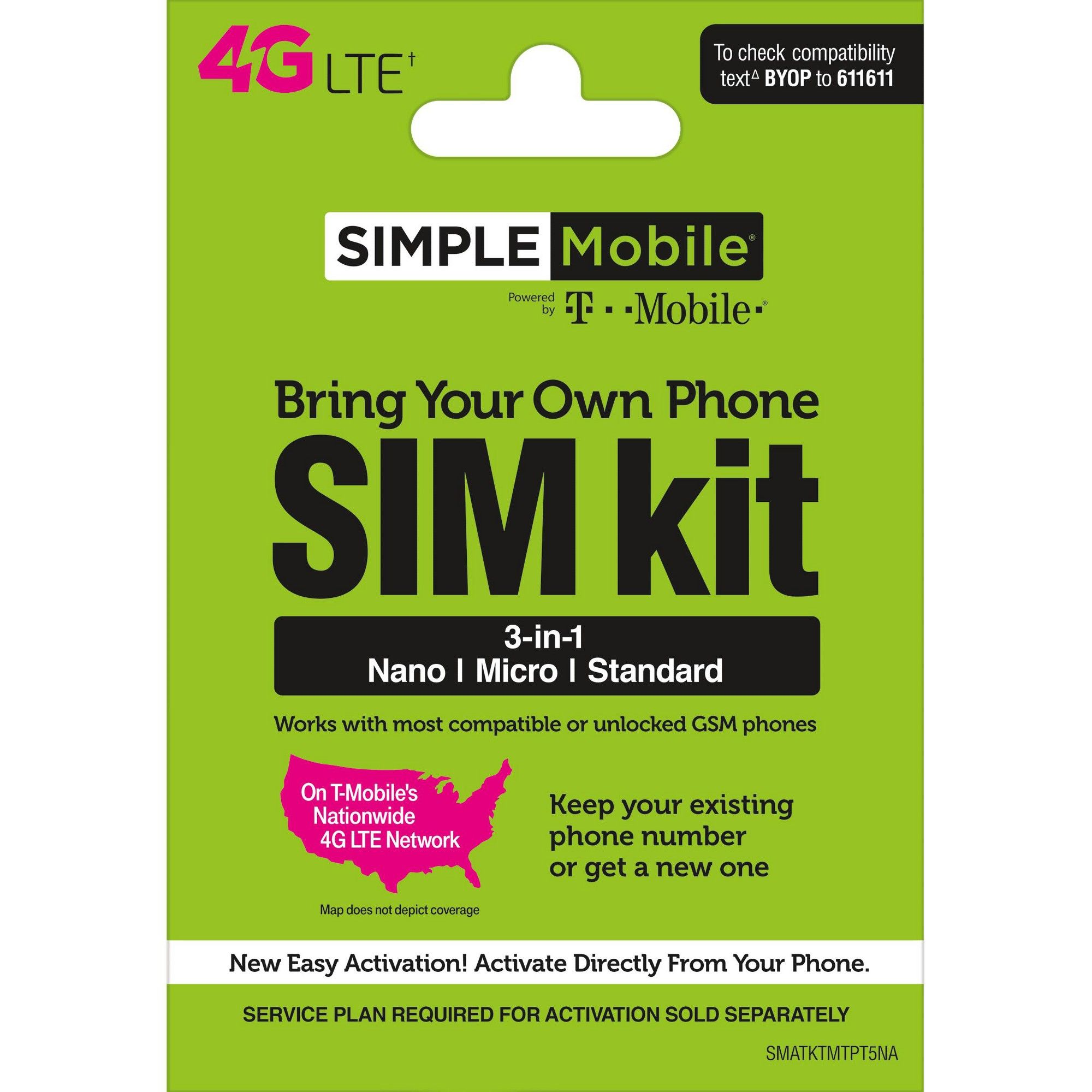 Simple Mobile Sim Kit In 2021 Simple Mobile Boost Mobile Prepaid Phones