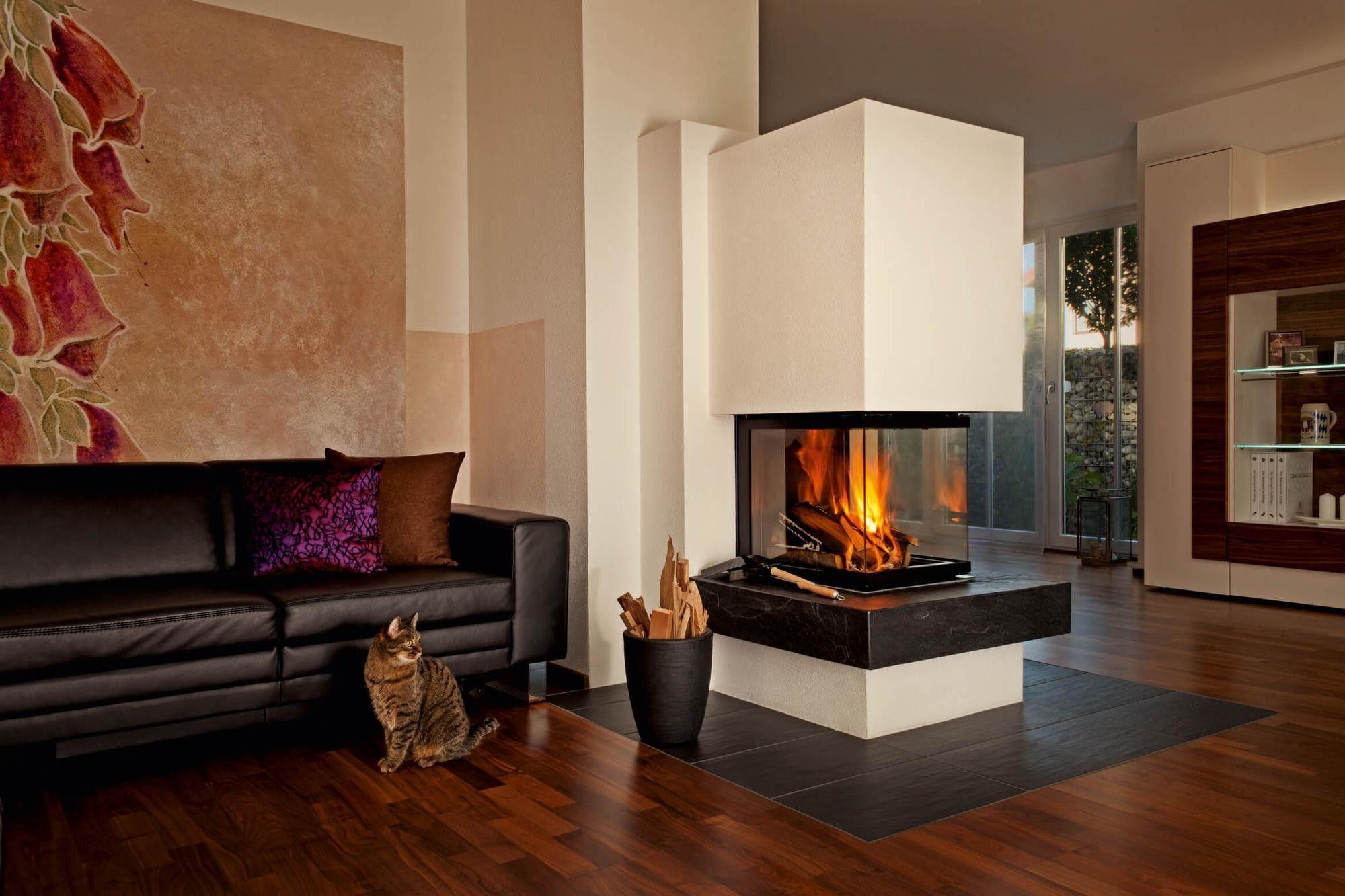 Rüegg Kamine fireplaces cheminée kamin ofen house interior ofen