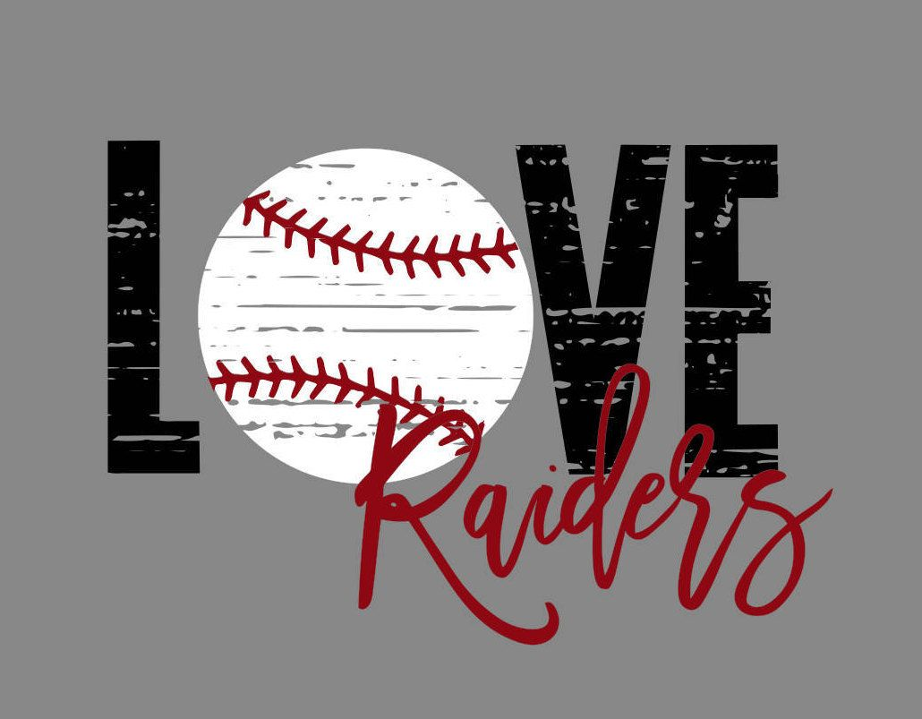 Download Love Raiders Baseball Distressed SVG/PNG (With images ...