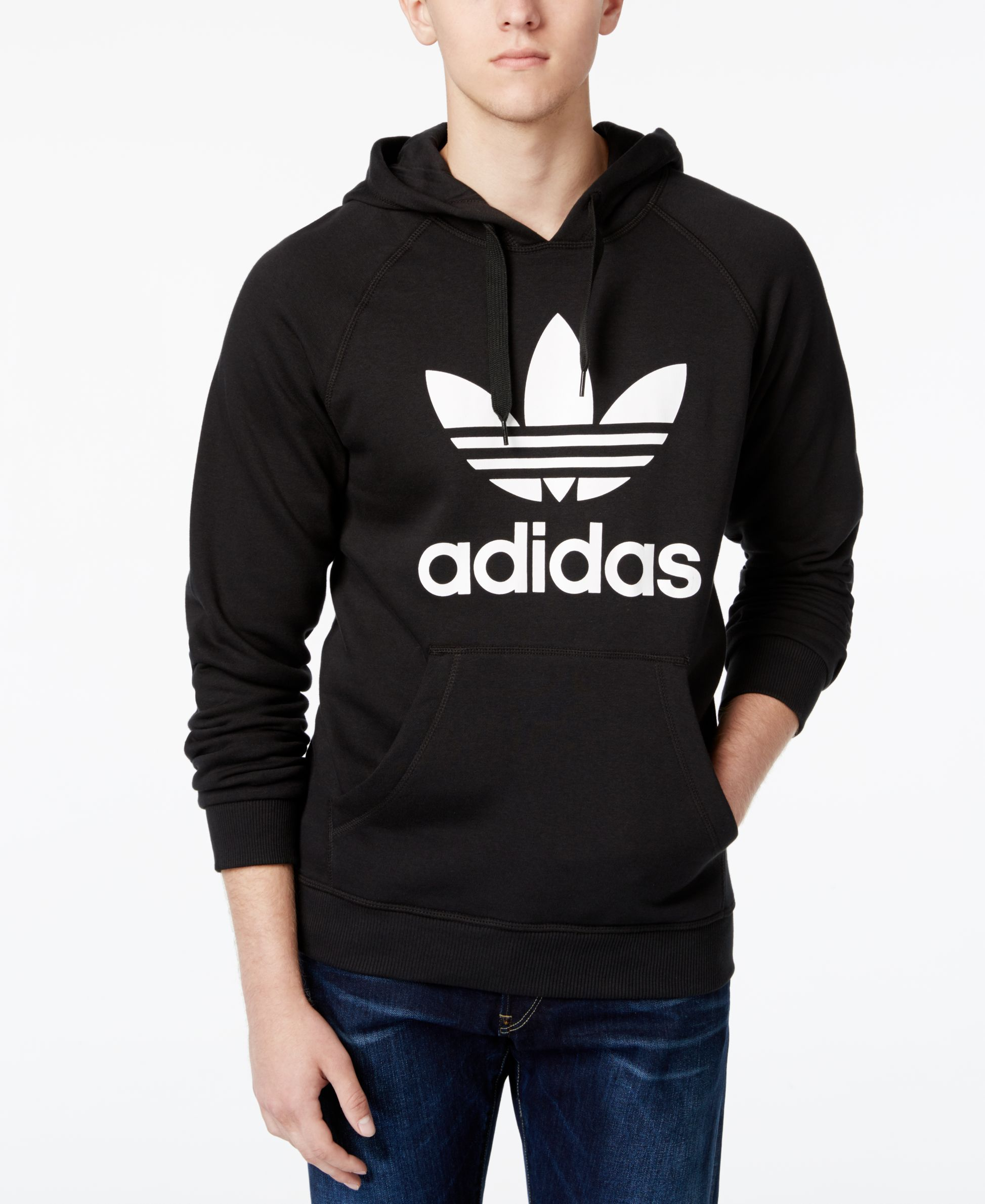 premium selection d716d a6105 Roll with an Old School look with this simple hoodie from adidas Originals,  featuring the iconic logo at the front.   Cotton polyester   Machine  washable ...