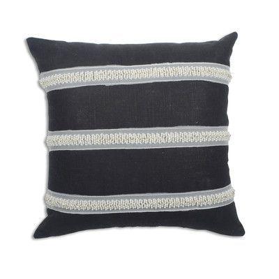 Brite Ideas Living Circa Solid Cactus Linen Throw Pillow Color: