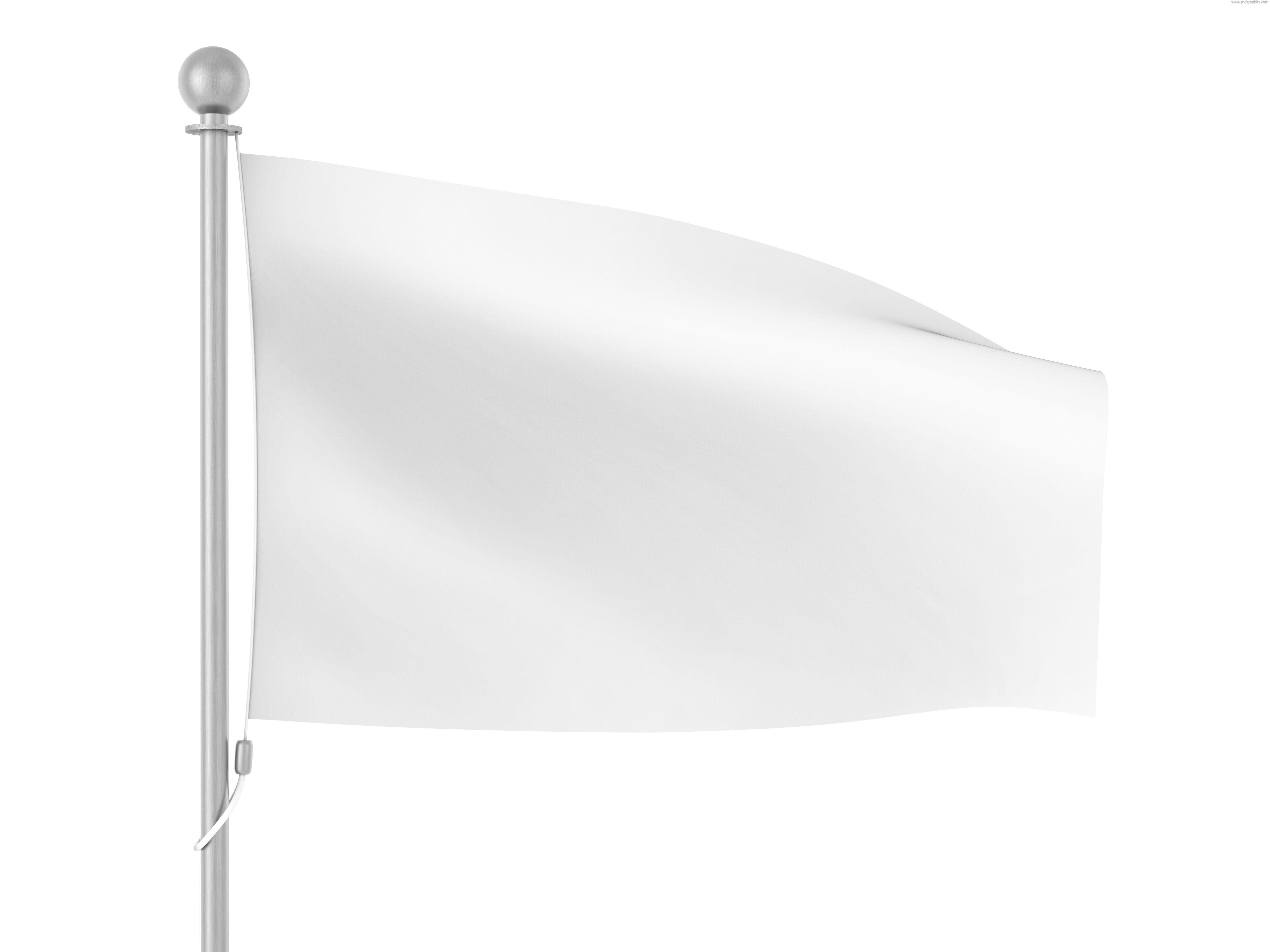 White Flag White Flag Bright Background Flag Template