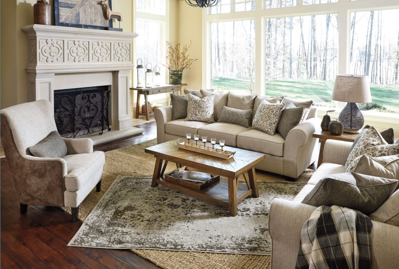 Ashley\'s very own Baxley sofa! | Decor I love❤ | Pinterest ...
