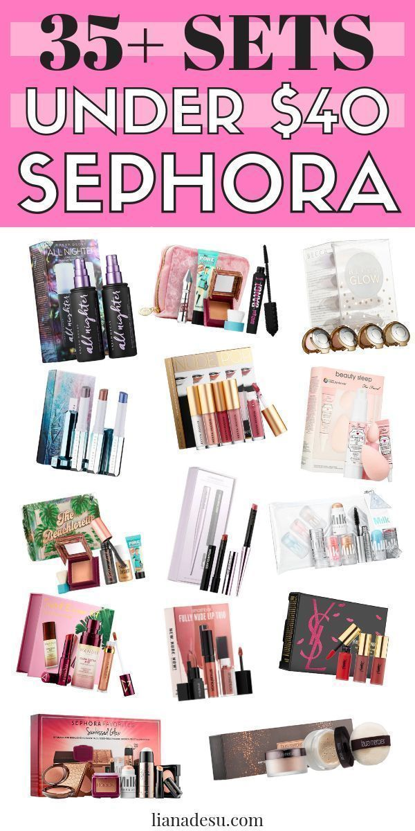 Sephora Gift Guide Makeup Under 40 Sephora, Best
