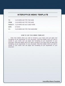 Interoffice Memos Interofficememotemplate  Beautiful Templates  Pinterest  Template