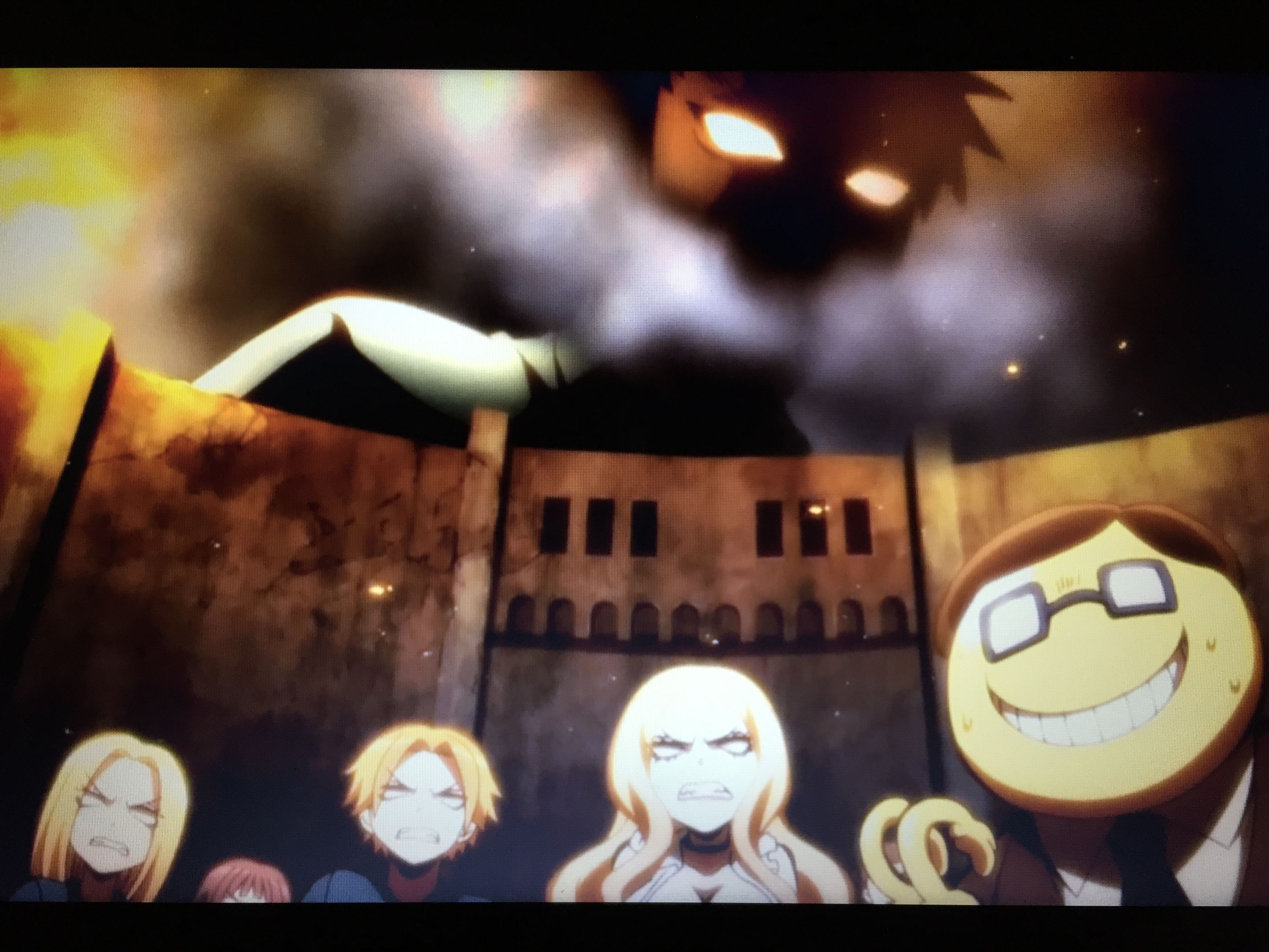 I Saw This Scene In Assassination Classroom And Laughed So Hard Aot Meets Assassination Classroom Assassination Classroom Anime Classroom