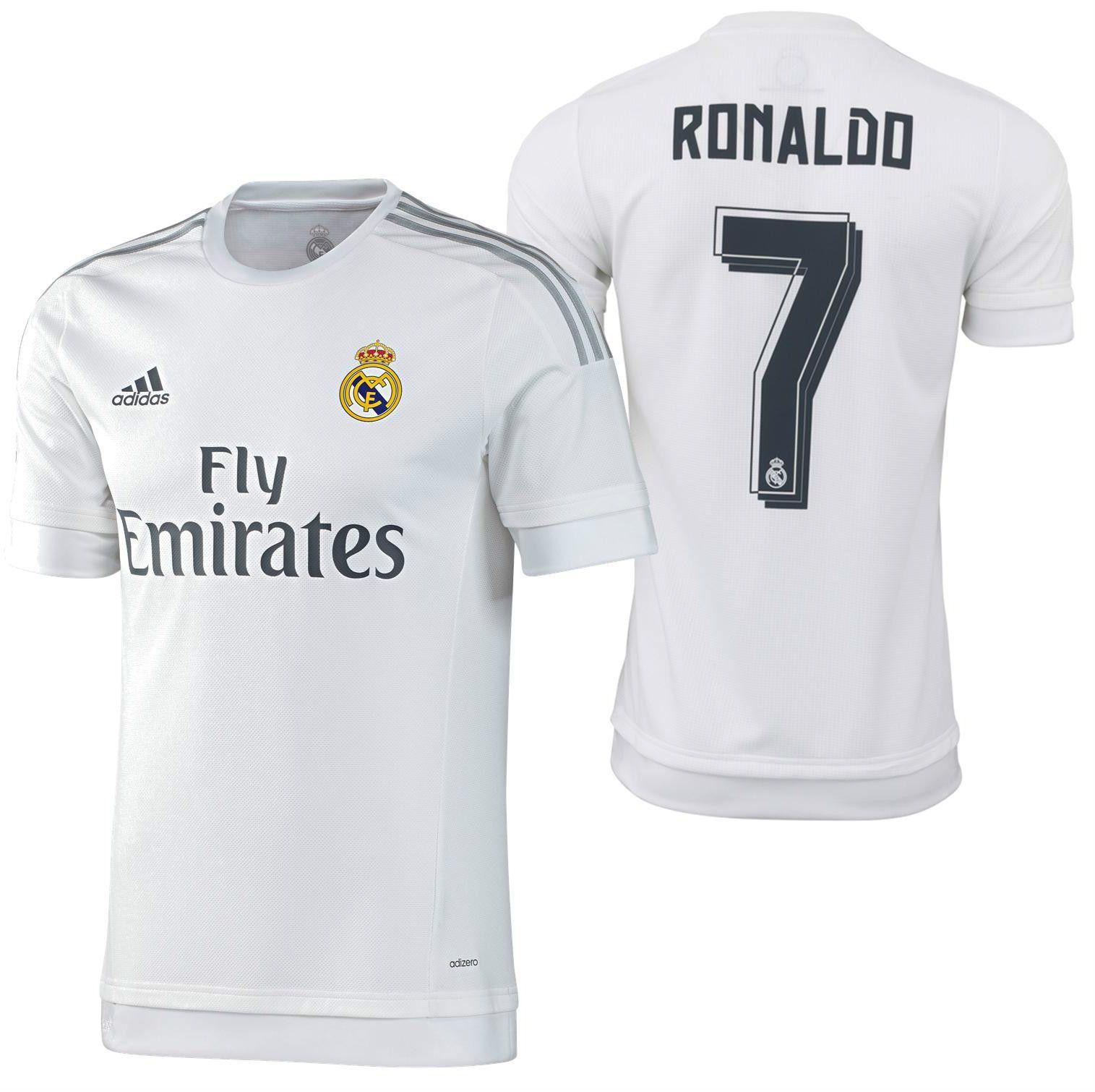 695b76c1e50 ... reduced adidas cristiano ronaldo real madrid authentic home match jersey  201516 d4e0d be9b3