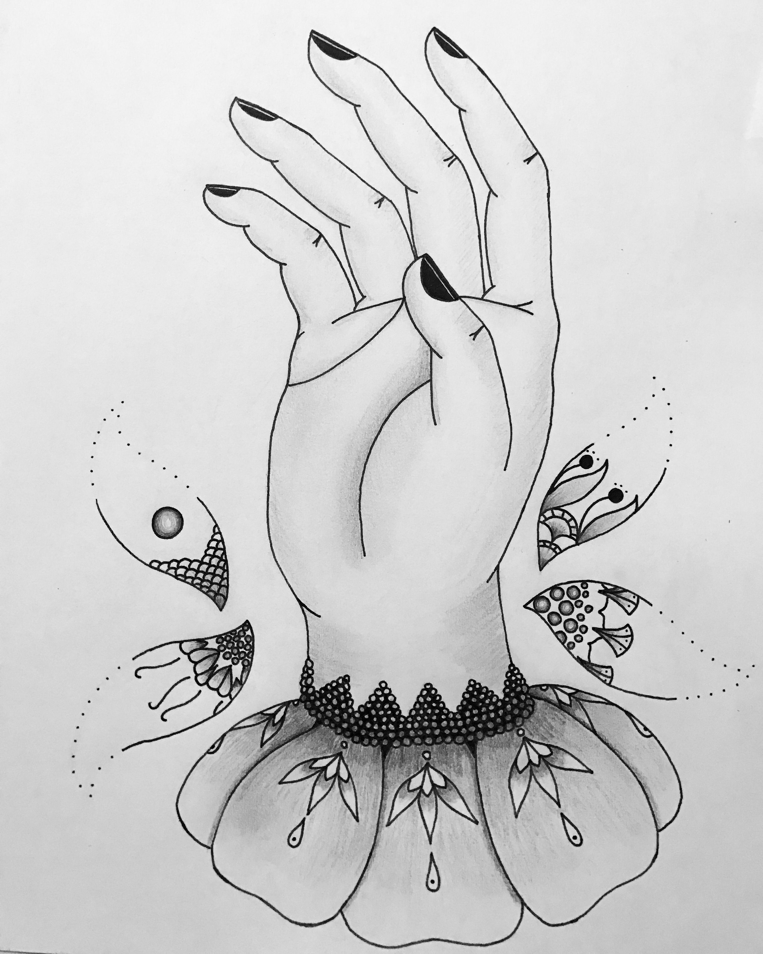 Moon Flowers Woman Tattoo Design Available On Etsy Laurenceveillx Half Sleeve Tattoo Template Celestial Tattoo Tattoos For Women Half Sleeve