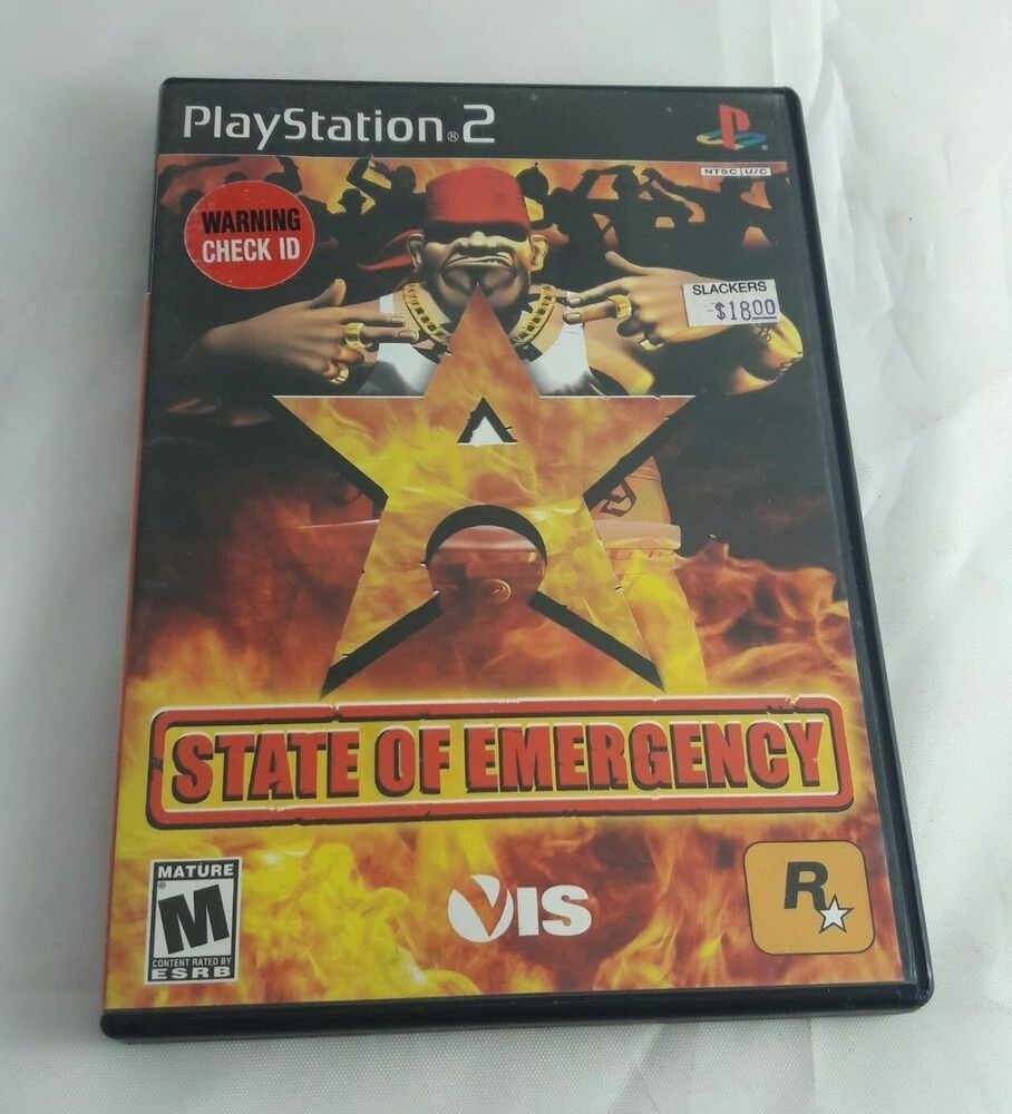 Details About State Of Emergency Ps2 Video Games Rockstar