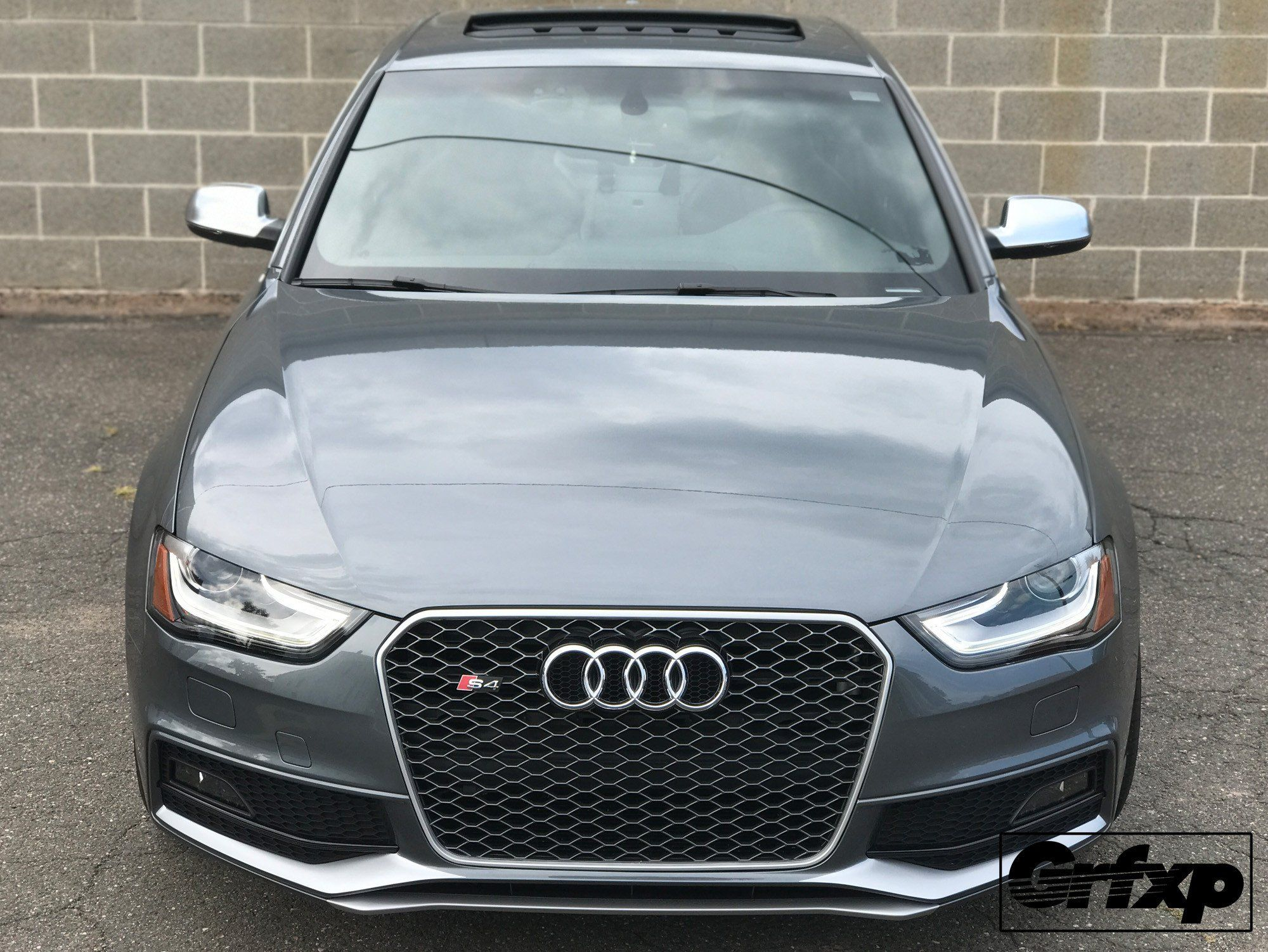 Fog Light Under-Lip Blade Overlays for B8 5 Audi S4/S-Line