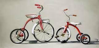 Resultado de imagen para pinturas de cuadros de bicicletas