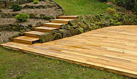 gartengestaltung terrasse holz – flipnation, Garten ideen gestaltung