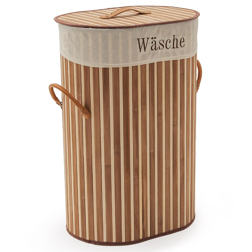 Laundry Basket Bamboo Laundry Bag Collapsible Cloth Basket Storage Linen Hamper Storage Baskets Clothes Basket Folding Laundry Basket