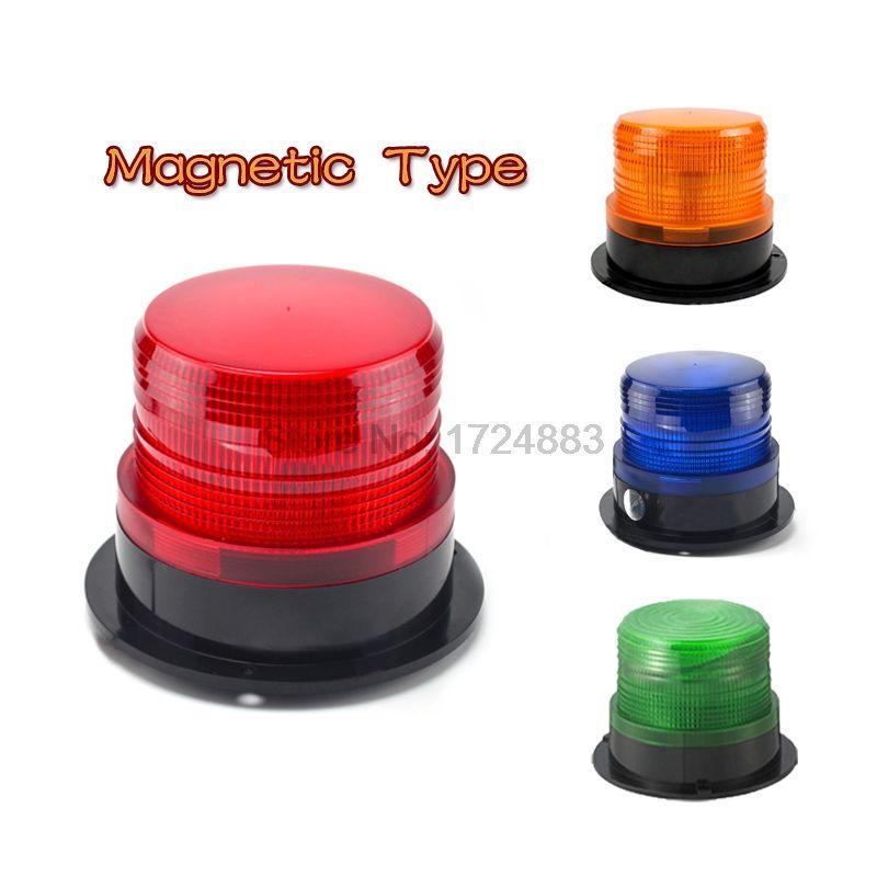 Magnetic Rolling Car Truck Signal Warning Light 12v 24v 220v N 5095 Indicator Light Led Lamp Flash Beacon Strobe Eme Warning Lights Indicator Lights Led Lights