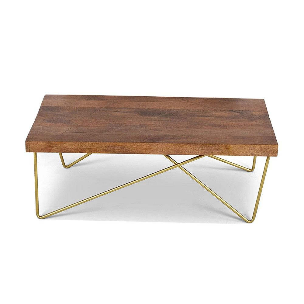 Walter Cocktail Table Mango Wood Top With Brass Inlay Steve Silver Wood Cocktail Table Mango Wood Cocktail Tables [ 1000 x 1000 Pixel ]