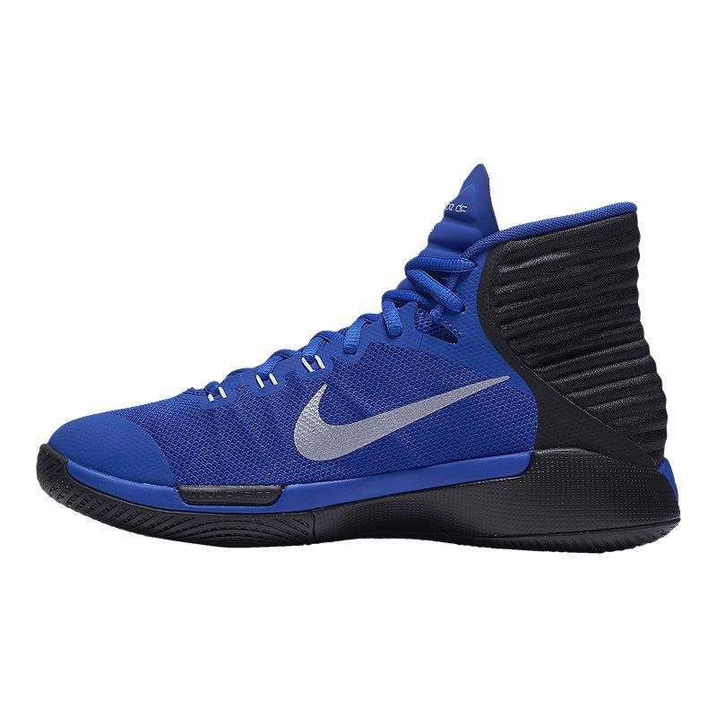 online retailer 2db8e 3ebc1 Nike Women's Prime Hype DF 2016 Basketball Shoes - Blue ...