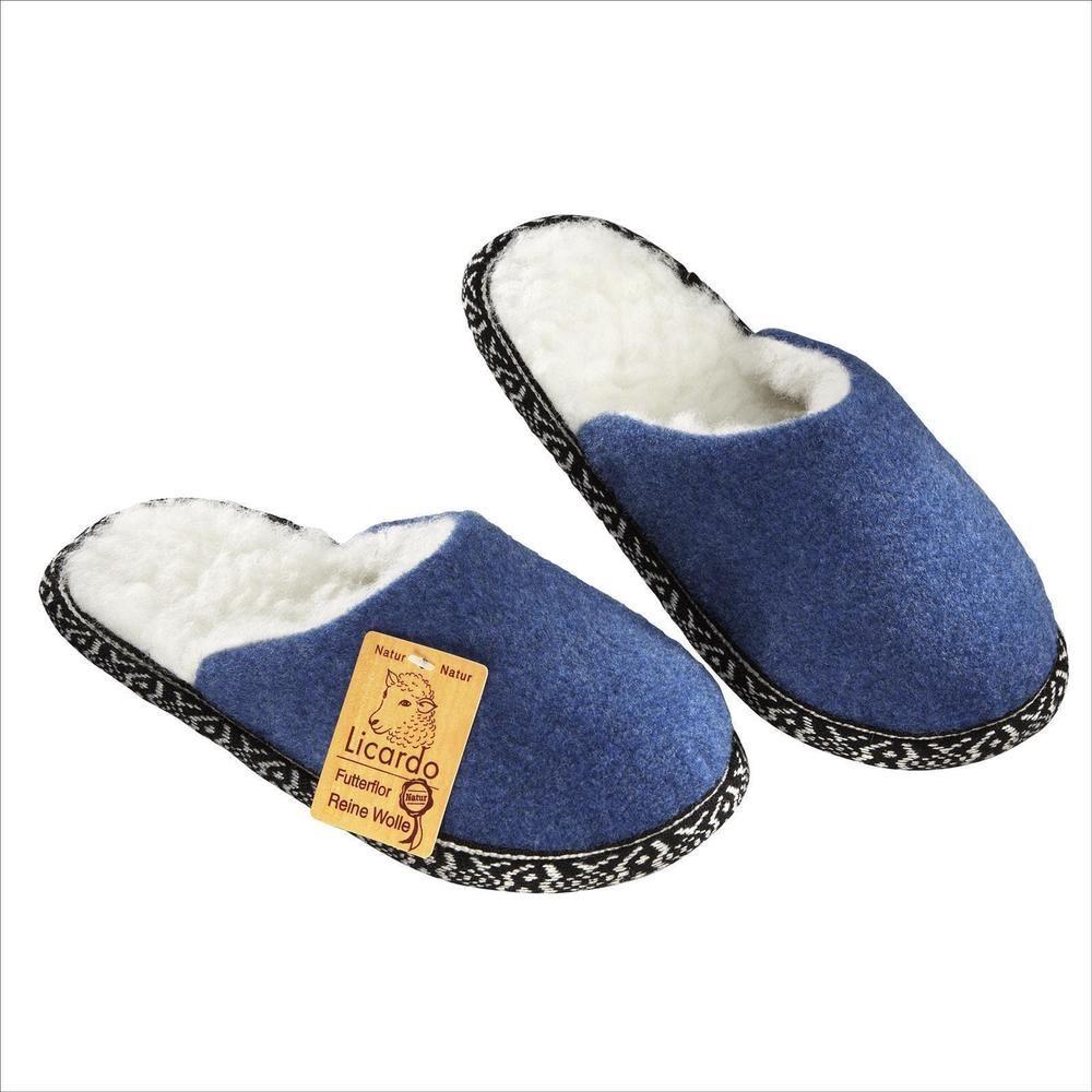 A FILZPANTOFFELN HAUSSCHUHE Pantoffeln Latschen Puschen