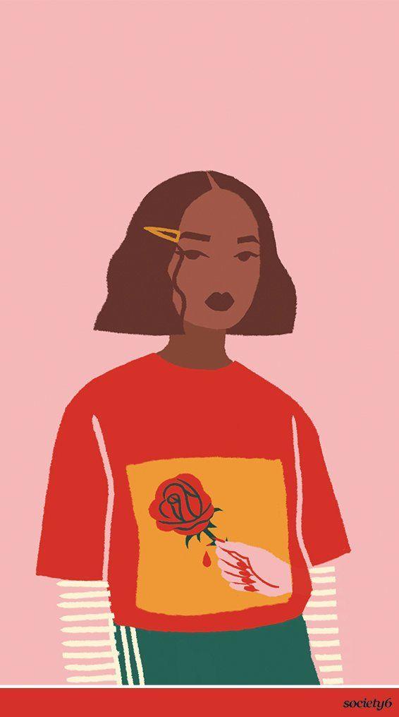 """Prick"" Art by Sabrena Khadija on Society6. Get to know the illustrator and designer… | Society6 thumbnail"