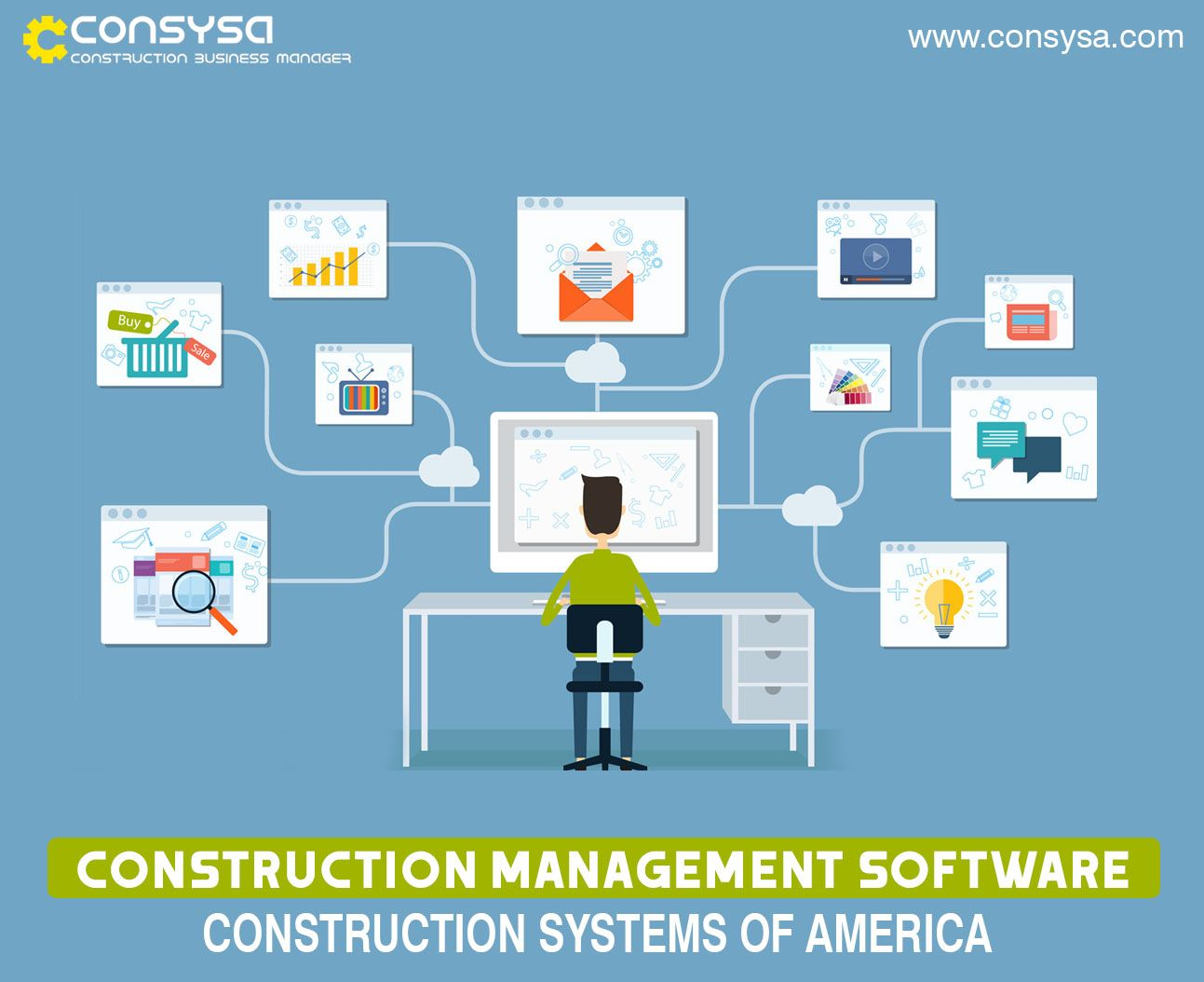 CONSYSA is Cloudbased construction software that helps