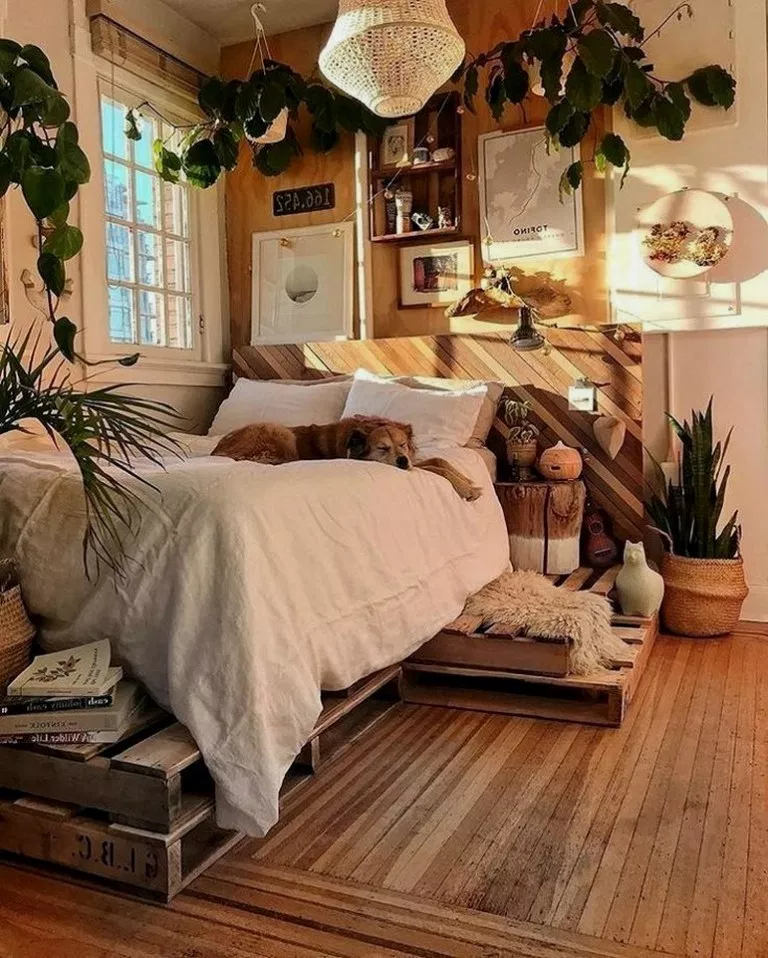 36 Small Bedroom Ideas That Are Look Stylishly 00013 Bohemian Bedroom Decor Aesthetic Bedroom Room Inspiration