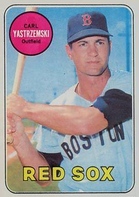 1969 Topps Carl Yastrzemski 130 Baseball Card Value Price