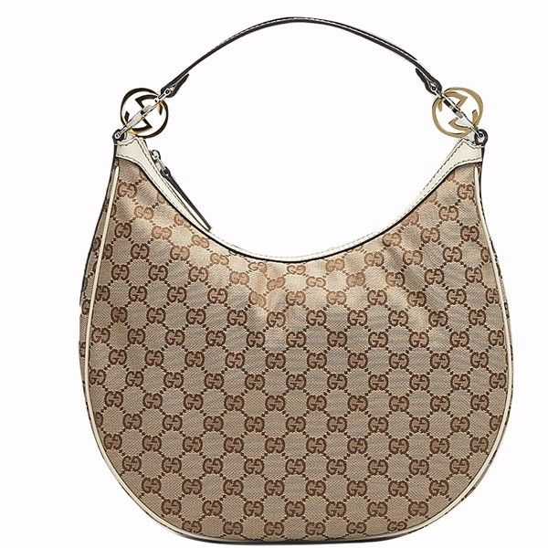 Gucci GG Twins Medium Hobo Bag 232962 in Beige /Off-White  from http://guccioutletonsale.net/