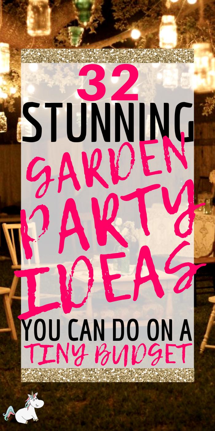 Photo of 32 besten Ideen für Gartenpartys (mit Bildern), die Sie 2020 nicht verpassen sollten   Die Mumienfront