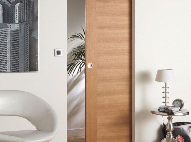 porte cachée #jefaisladecoquimeplait Pinterest House - pose porte coulissante sous pente