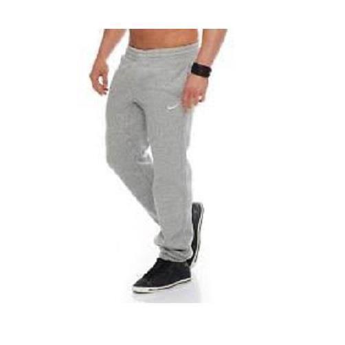 cc2915735bc6 Nike Mens Club Sportswear Fleece Cuff Heather Gray Sweatpants S L 2XL  826425-063  Nike  Pants
