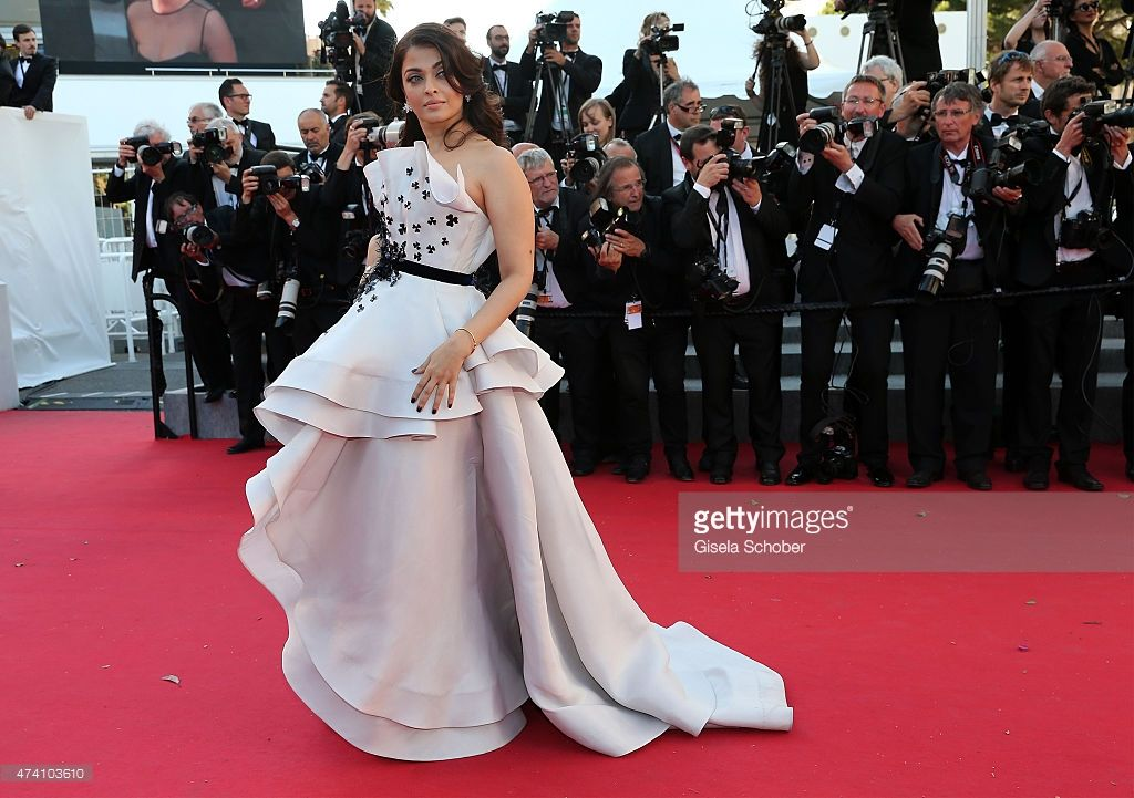 Aishwarya Rai Bachchan attends the Premiere of 'Youth' during the 68th annual Cannes Film Festival on May 20, 2015 in Cannes, France.