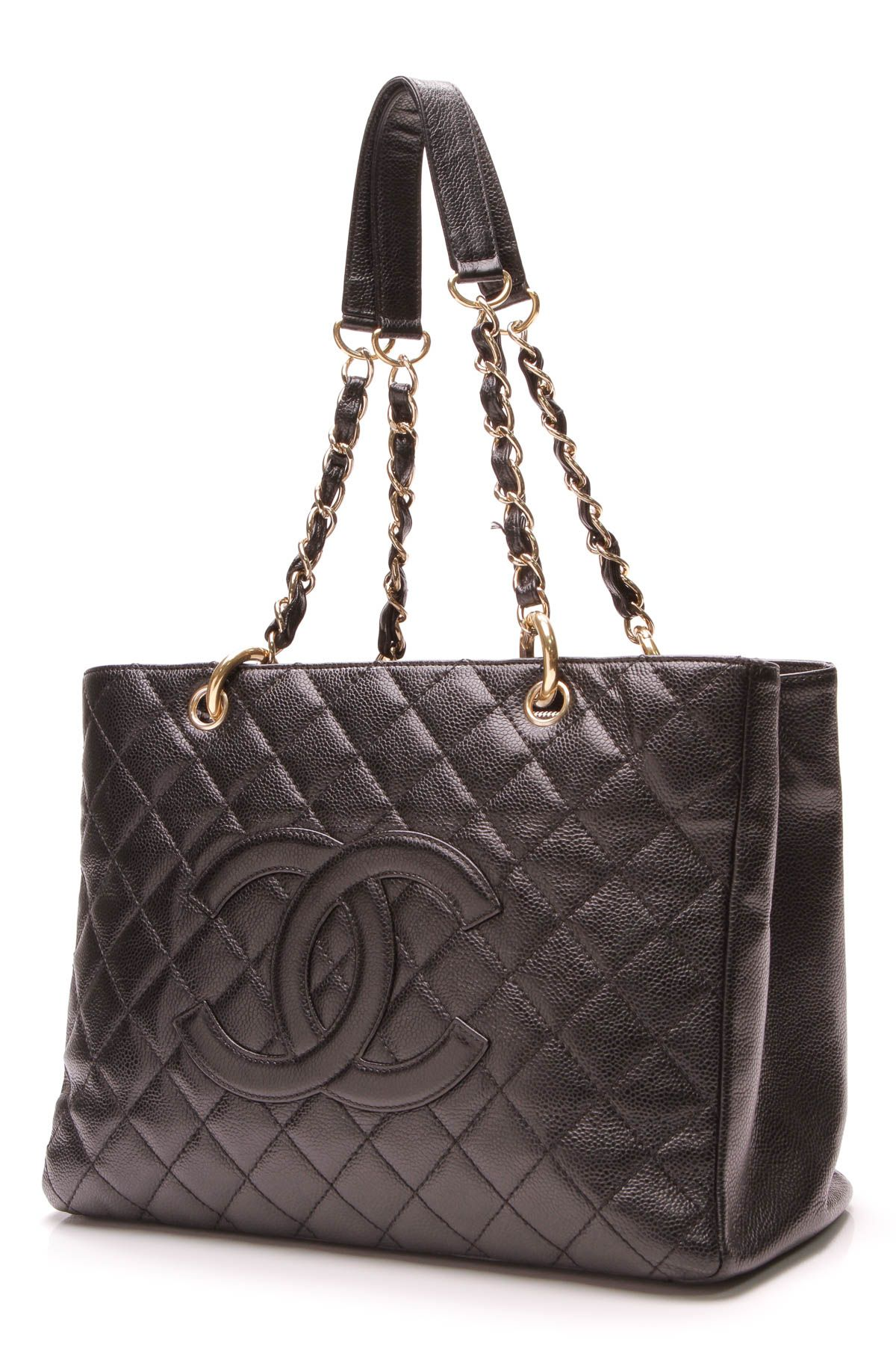 fad78c83e5b Chanel GST Grand Shopping Tote Bag - Black Caviar | Crazy for Coco ...