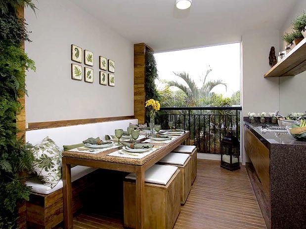 Varandas De Apartamento Com Imagens Varanda Gourmet Planos De