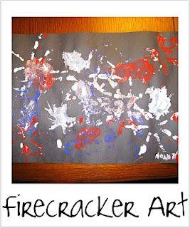 Firecracker Art