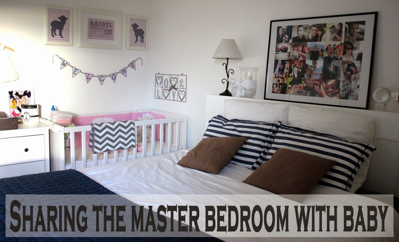 Sharing the master bedroom with baby parenting baby pinterest master bedroom bedrooms Master bedroom plus nursery