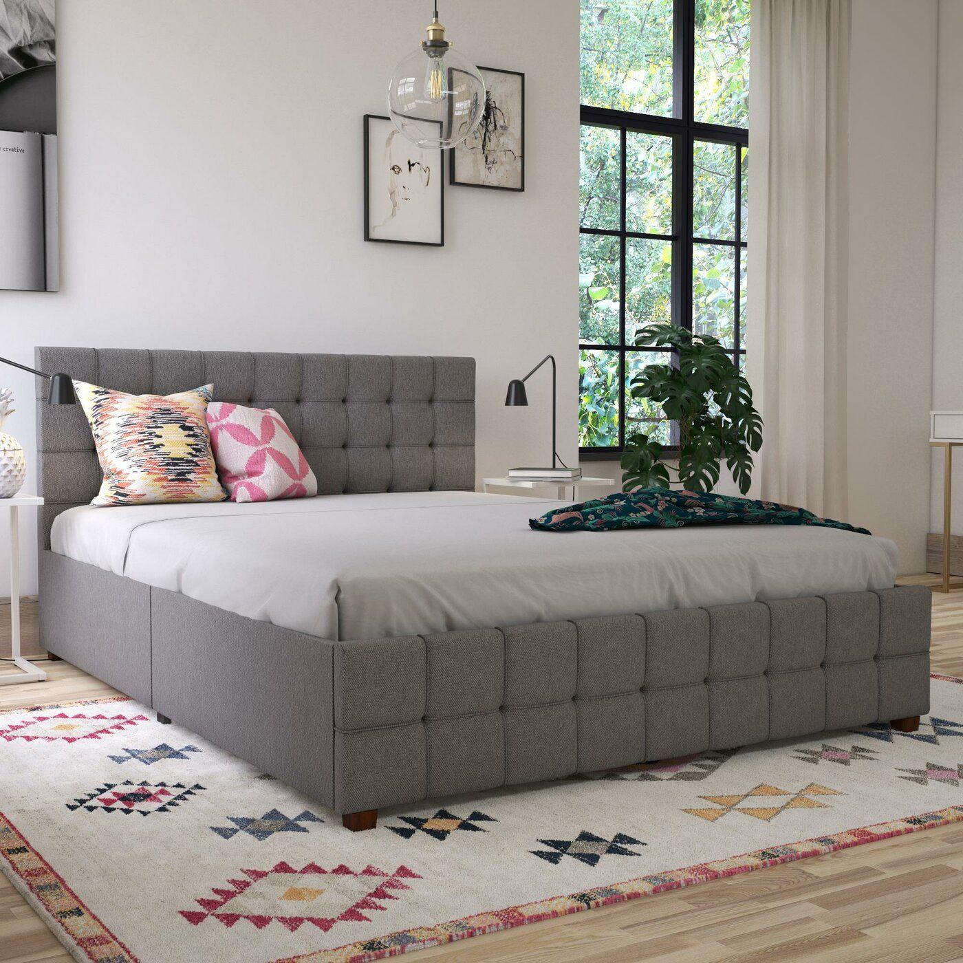 Montauk Standard/Platform Bed Panel bed, Furniture, Wood