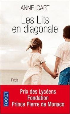 Amazon Fr Les Lits En Diagonale Anne Icart Livres Livres Jeunes Adultes Livres A Lire Romans A Lire