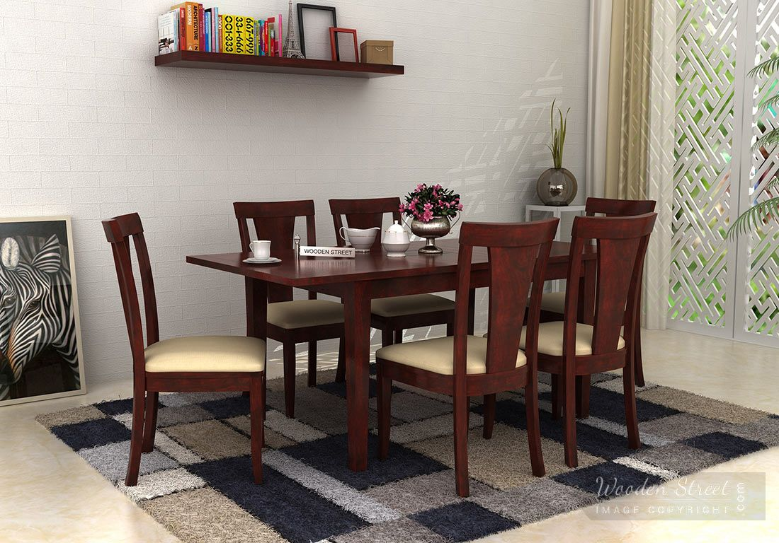 Woodenstreet Presents The Most Beautiful 80 Dining Furniture Designs Select One From These Dining Room Fu Modern Dining Furniture Dining Room Furniture Design