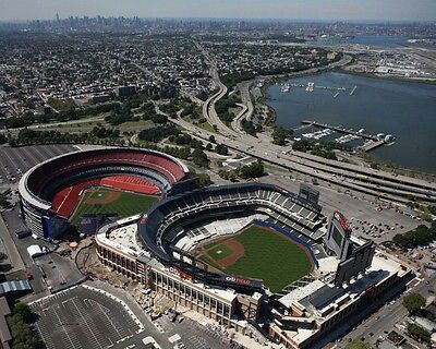 New York Mets Shea Stadium and Citi Field right next to each other in  Flushing 4e00020f2