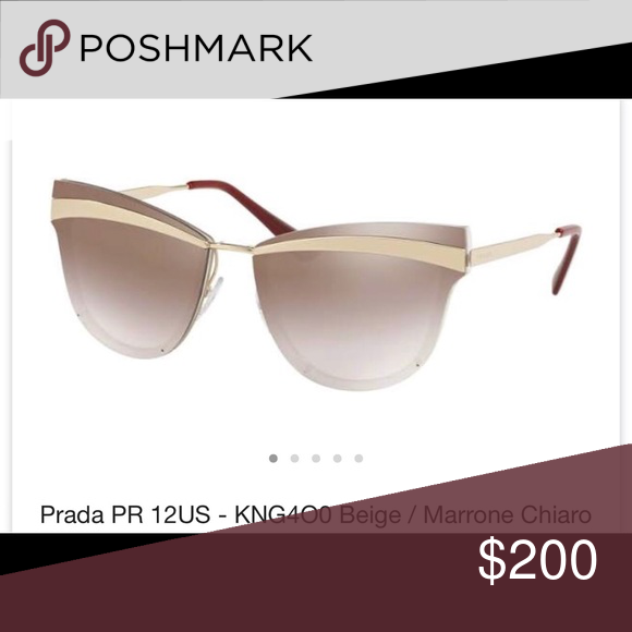 5cc91948ad3 ISO these new gently used Prada Sunglasses PR 12US I SO new or gently used  Prada sunglasses. Same color in the picture is desired.
