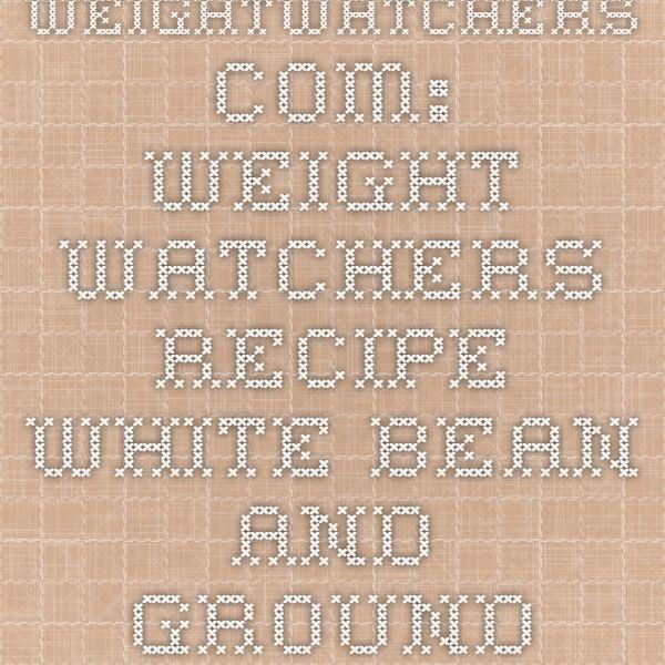 WeightWatchers.com: Weight Watchers Recipe - White Bean and Ground Turkey Slow Cooker Chipotle Chili