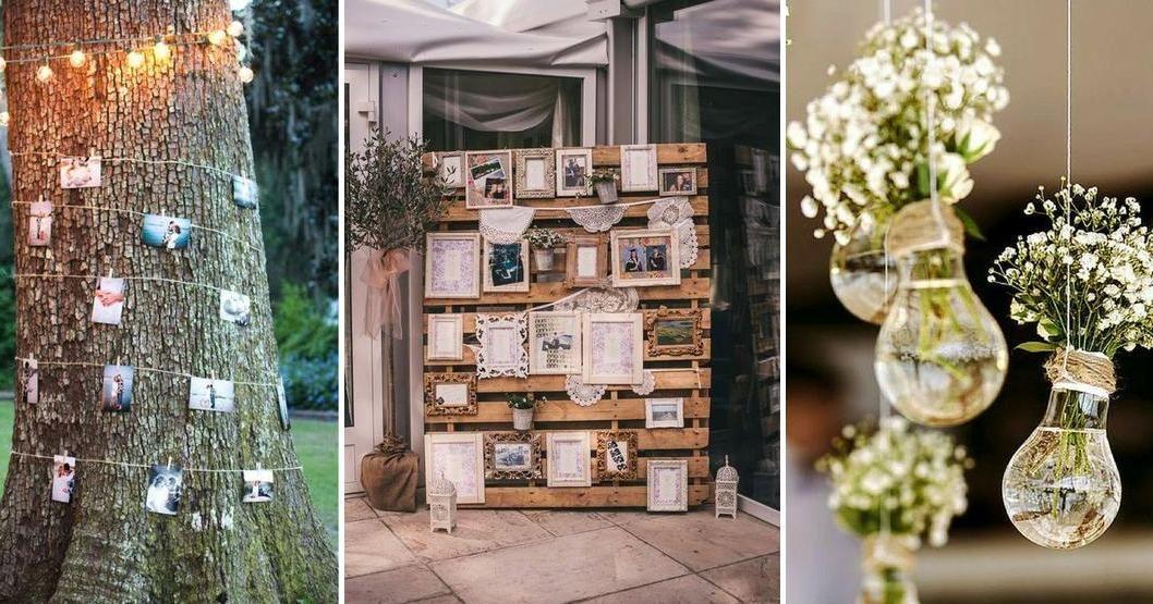 Decoraciones de bodas sencillas y económicas Ideas de XV - bodas sencillas