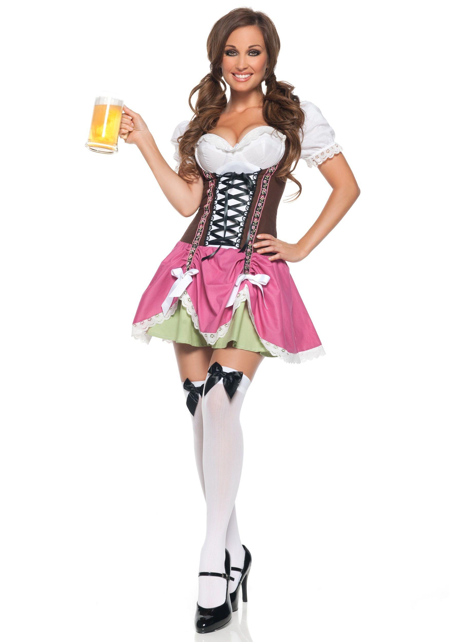 Gretel Swiss German Oktoberfest Beer Garden Dress Up Halloween Adult Costume