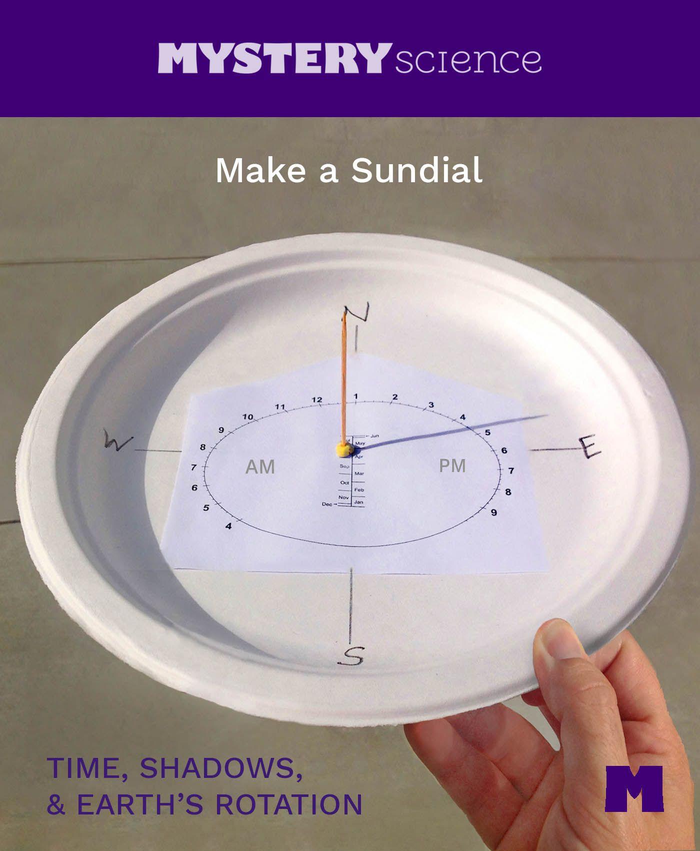 DIY sundial - master class